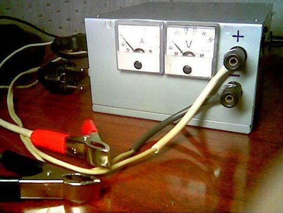 Зарядное устройство из БП компьютера.