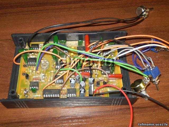 датчике металлоискателя